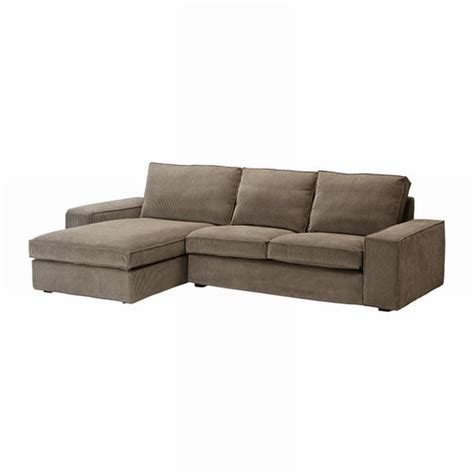 ikéa chaise ikea kivik 2 seat loveseat sofa w chaise slipcover cover