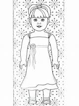 Coloring Pages American Doll Printable Printables Grace Getcolorings Sheets Refrigerator Julie Colouring Books Ameri Rocks Colorings Houses sketch template