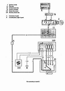 Volvo 940  1991  - Wiring Diagrams - Heater Fans