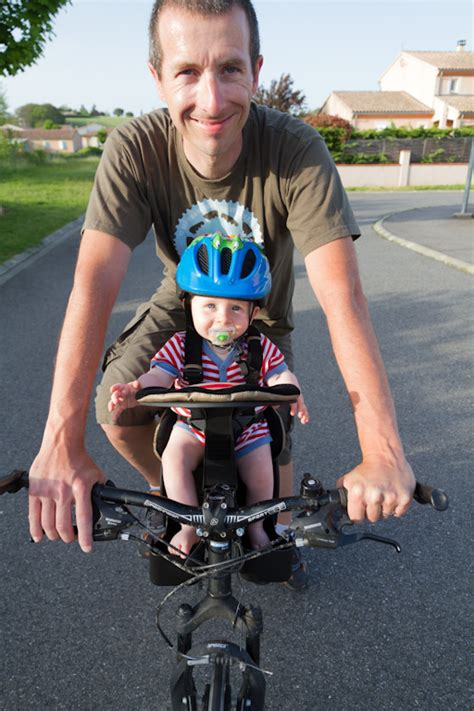 siège bébé vélo avant test du porte bébé vélo weeride k luxe matos vélo