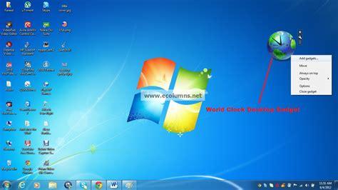 gadgets bureau windows 8 top useful desktop gadgets for windows 7 ecolumns