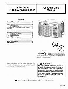Amana Air Conditioner 18m23tb User Guide