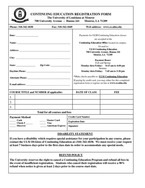 registration form template word charlotte clergy coalition