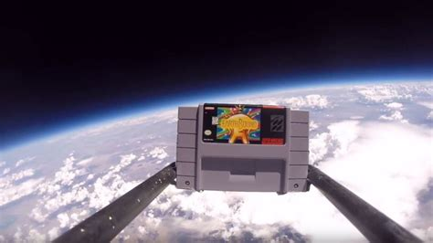 High School Kids Send Earthbound Into Space