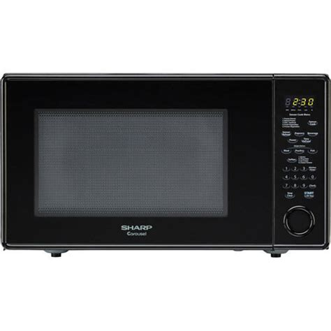 Sharp Microwave Ovens Countertop sharp r559yw carousel 1 8 cu ft 1100w countertop microwave