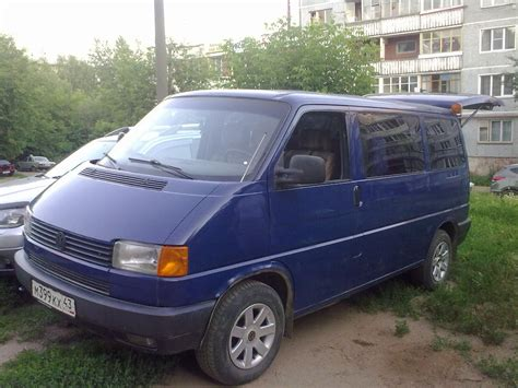 Volkswagen Caravelle Hd Picture by 1994 Volkswagen Caravelle I T4 Pictures Information