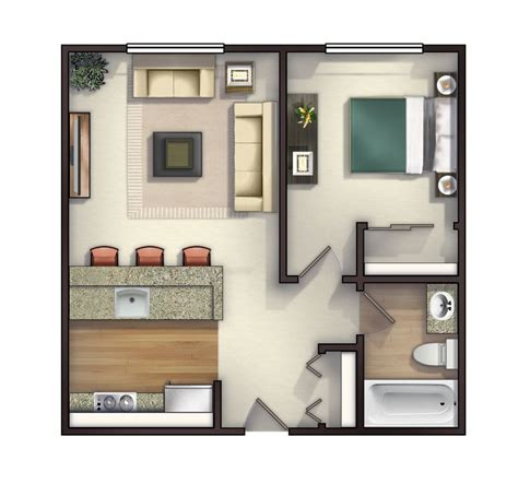 25+ Best Ideas About Small Apartment Layout On Pinterest