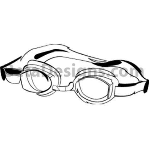 swim goggles clipart black and white swim goggles black and white clipart clipart suggest