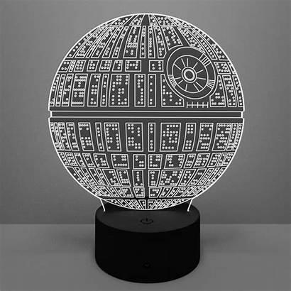 Lamp Death Star Led Deathstar