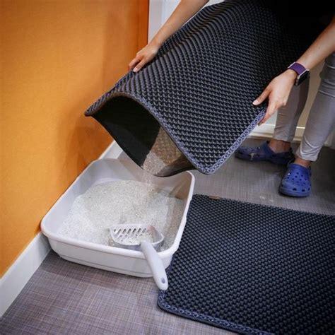 black cat litter mat 5 best cat litter mats that prevent the spread of cat