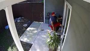 Home Security Camera Caught Home Invasion