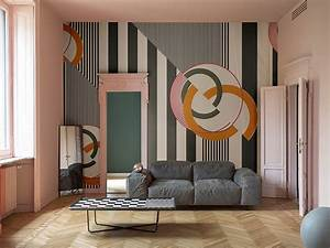 wandgestaltung mit tapeten von wall deco deco home With balkon teppich mit wall and deco tapete