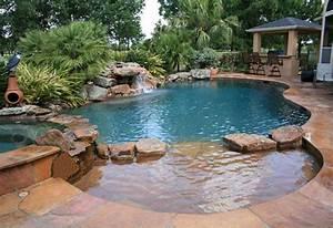 Swimming Pool Dekoration : 24 wonderful small swimming pool design for small backyard 24 spaces ~ Sanjose-hotels-ca.com Haus und Dekorationen