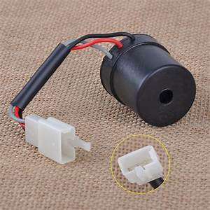 3 Wires Black Turn Signal Relay Flasher Fit For Gy6 50