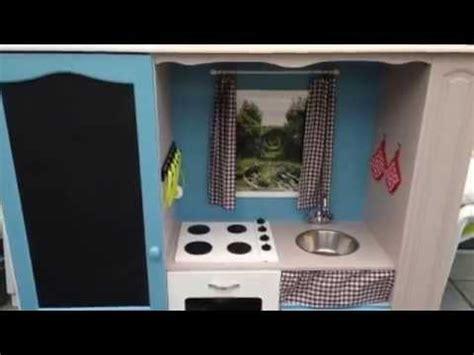 cuisine enfant transformer un meuble tv en cuisine pour enfant