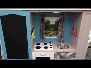 Transformer un meuble tv en cuisine pour enfant youtube for Deco cuisine pour meuble tv angle