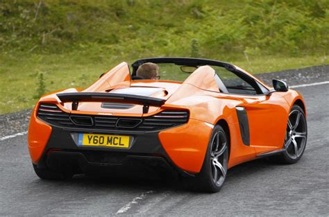 mclaren  spider review  autocar