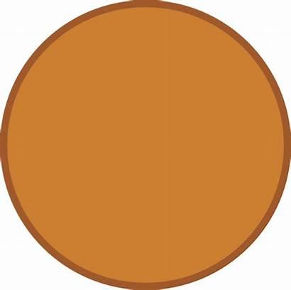 Bronze Clipart Circle Clip Shape Brown Transparent