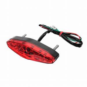 12v 15 Led Motorcycle Integrated Rear Brake Turn Signal