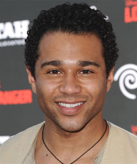 corbin bleu short curly black afro hairstyle