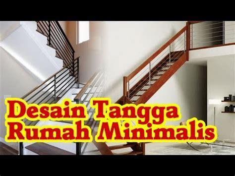 desain model tangga rumah minimalis tingkat sederhana