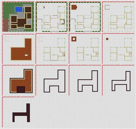 minecraft modern house blueprints layer  layer google search minecraft modern minecraft