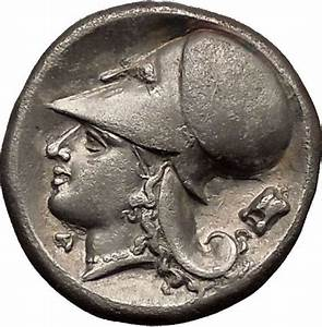 CORINTH 375BC Silver Stater Pegasus Athena Authentic ...