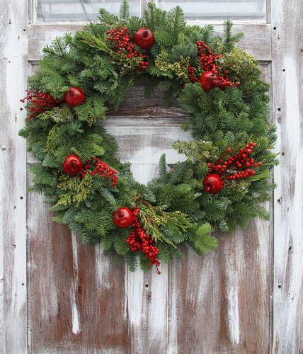 live christmas wreaths fraser fir wreaths