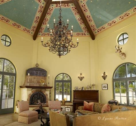 ornamentalist italian hexagonal ceiling
