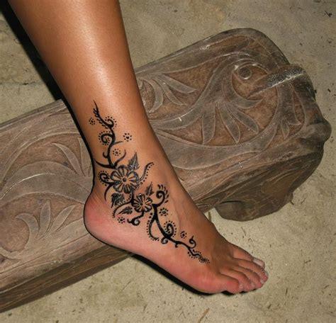 ideas  ankle henna tattoo  pinterest henna