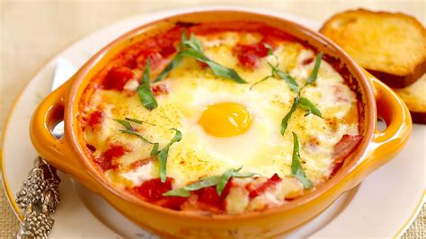 baked egg breakfast ideas italian baked eggs gemma s bold baking breakfast recipes episode 3 youtube