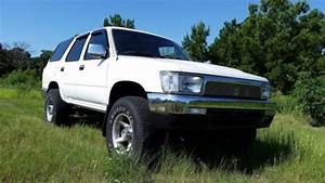 Sell Used 1993 Toyota 4runner 4x4  2 4 L R22 Motor  5 Speed  Hunter U2019s Dream Ride In Tyler  Texas