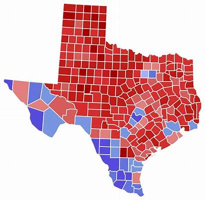 Election Texas Senate Results County States United