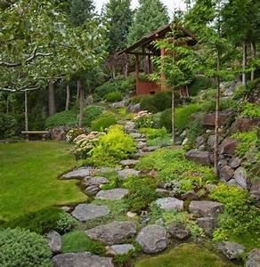 1000 idees a propos de plantes de rocaille sur pinterest With amenagement exterieur maison terrain en pente 6 4 astuces pour amenager un terrain en pente habitatpresto