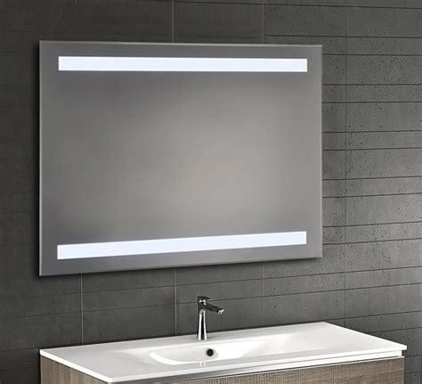 Backlit Bevel Edge Bathroom Mirror With Ir Sensor Luxe