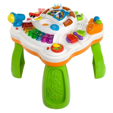 Weina Musical Activity Table   Educational   Children Toys & Books   LandmarkShops.com