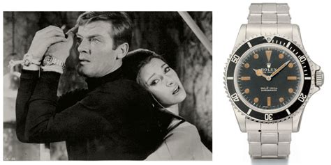 roger moore griffiths and armour the rolex submariner