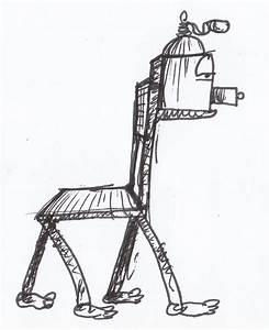 Hellbrauner Stuhlgang Bilder : stuhlgang am morgen bild kunst von frank czieczor bei kunstnet ~ Orissabook.com Haus und Dekorationen