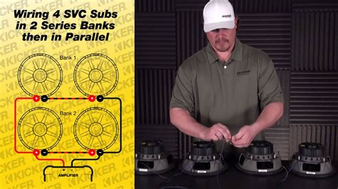 Subwoofer Wiring Four Ohm Svc Subs Series Parallel