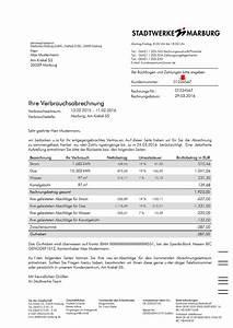 1 1 Rechnung Login : stadtwerke marburg rechnungserkl rung ~ Themetempest.com Abrechnung