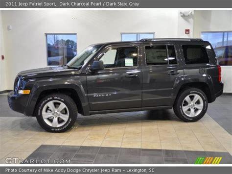 jeep dark gray dark charcoal pearl 2011 jeep patriot sport dark slate
