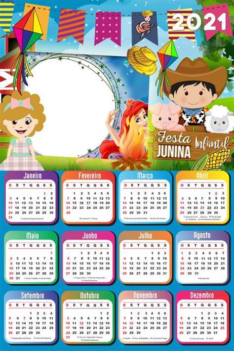 calendario  png infantil  foto montagem imagem