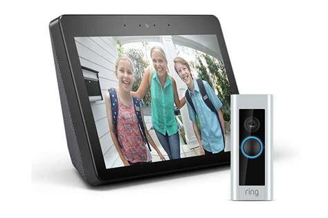 günstiges smart home spar bundle echo show ring doorbell pro
