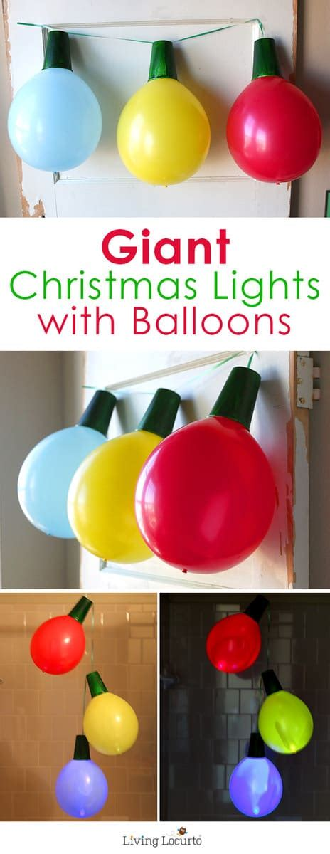 host a christmas ornament making party balloon lights and ornaments