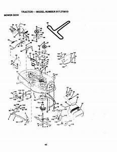 Craftsman 917270810 User Manual Tractor Manuals And Guides