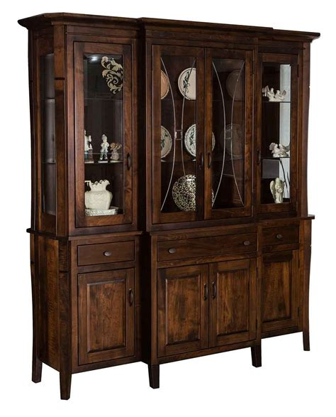 Amish Cabinet Makers Indiana by Amish Made China Cabinet
