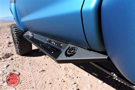 toyota tundra crewmax honeybadger side steps