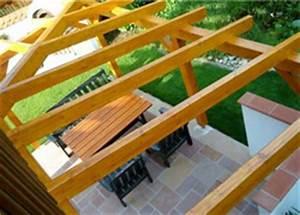 Terrassenüberdachung Günstig Selber Bauen : terrassenueberdachung selber bauen mit glasdach ~ Markanthonyermac.com Haus und Dekorationen