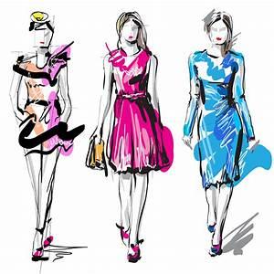 Fashion Dress Design Sketches - Mia Testa