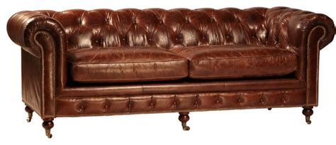leather tufted sofa bed